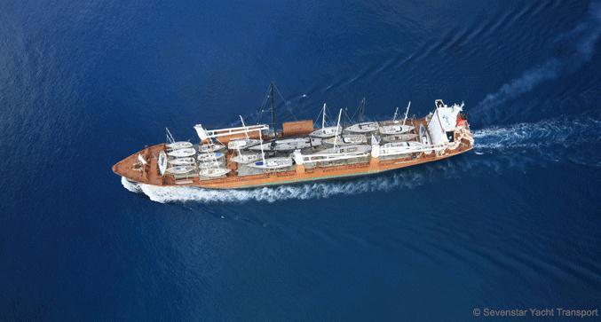 Sevenstar Yacht Transport departing Saint Thomas