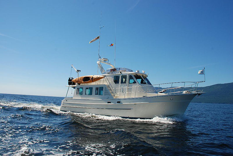North Pacific 43 foot Pilothouse trawler yacht