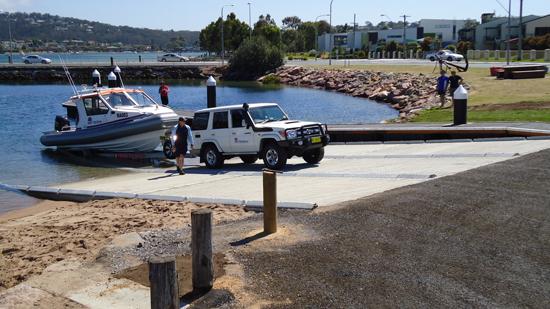 Boat Launch Ramp