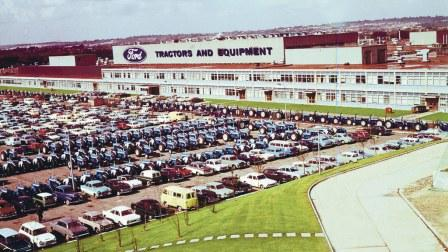 Ford New Holland Tractor Plant, Basildon, UK