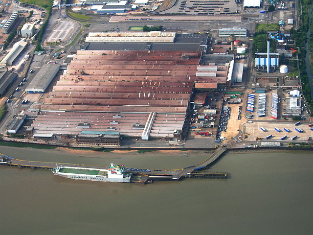 Ford's Dagenham Plant, just east of London, UK
