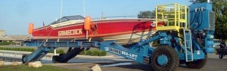 SEA-LIFT Diesel Powered Hydraulic Trailers