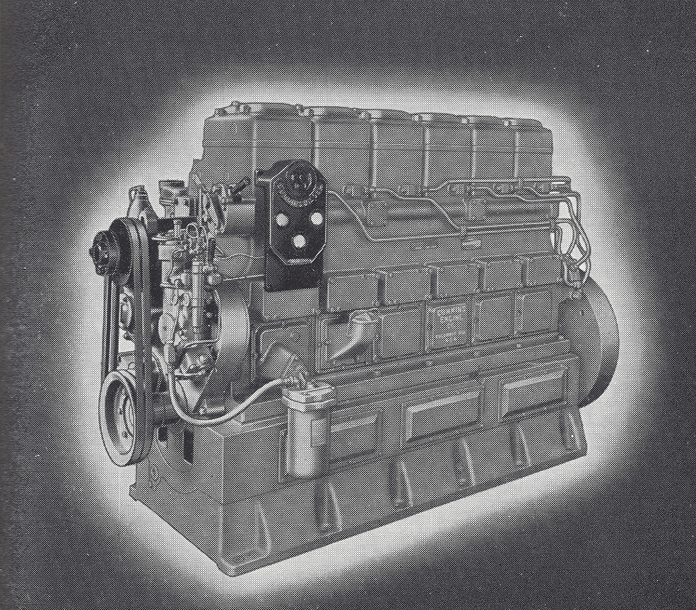 Cummins Model L Engine circa 1930. Courtesy of The Block. Click on picture to view This Is Cummins Brochure
