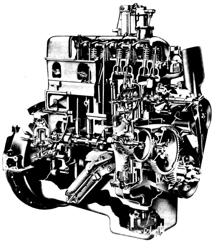SD80 Ford industrial Marine 4cyl Ford Lehman Head set SP90 2722E 2721E