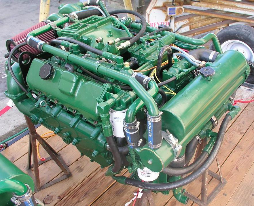 Detroit Diesel 8 2 Liter Fuel Pincher V8 Everythingaboutboats Org