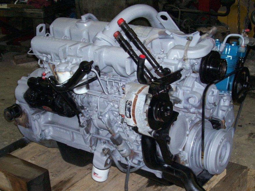 Leak Off Pipe 6cyl Dover. Ford Industrial Marine diesel Ford Lehman